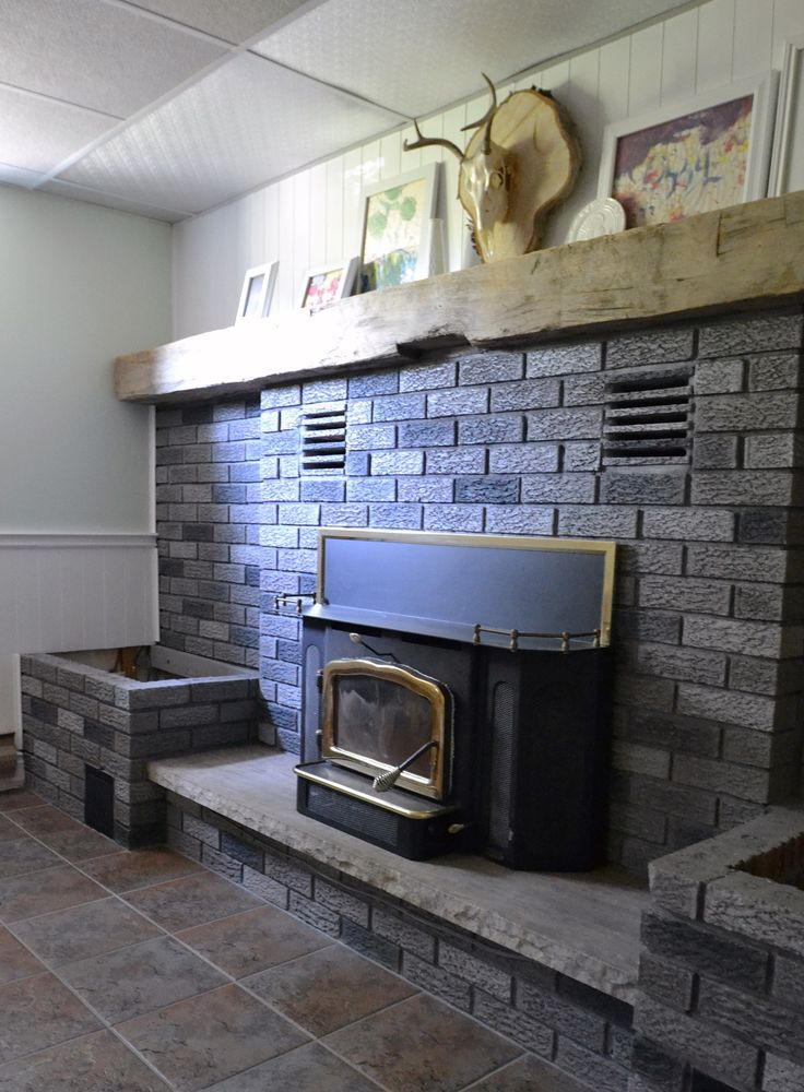 Fireplace Brick Stain Architecture Modern Idea
