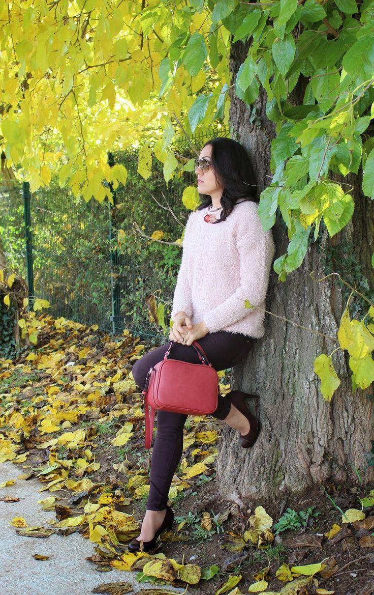 Patri Moura: Look do dia: Suéter Rosa