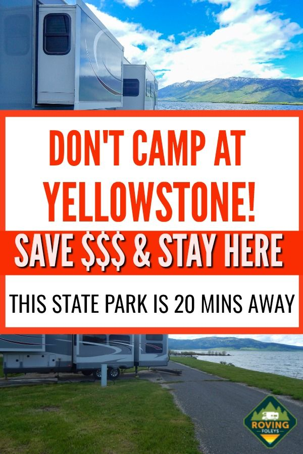 One Of Yellowstone National Parks Best Kept Secrets The Roving Foley S In 2020 Yellowstone Camping Yellowstone National Park Best Campgrounds