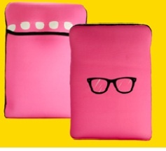 Pink Glass ipad sleeves