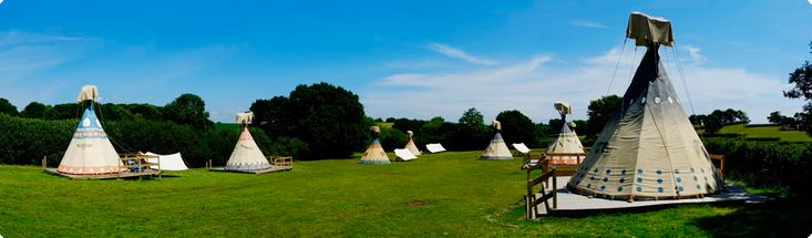 tipi holidays East Sussex