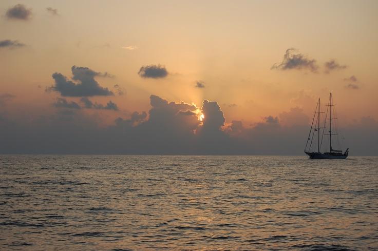 sunset forSailing