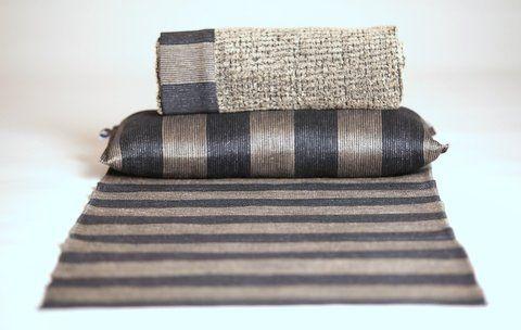Bastu textilier, handduk, kudde och sittunderlag Pisa design