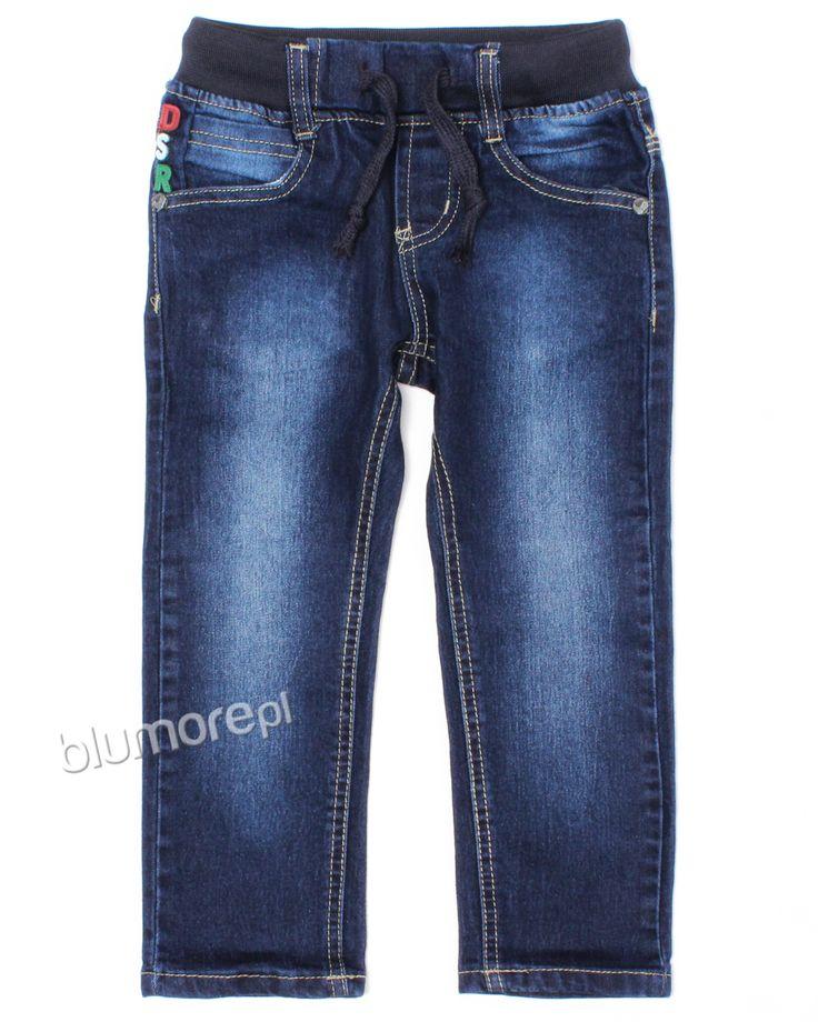 Spodnie jeansowe chłopięce - zawsze modne i wygodne. Wspaniałe do szkoły i na podwórko. Kup je swojemu synowi już teraz! | Cena: 39,90 zł | Link do sklepu: http://tiny.pl/gx3jr