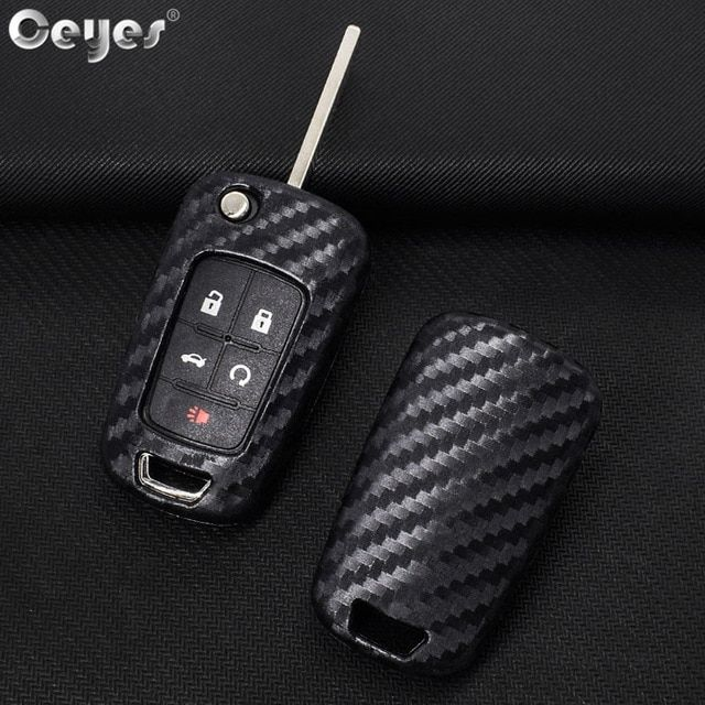Ceyes Car Styling Auto Key Shell Case For Chevrolet Cruze Aveo