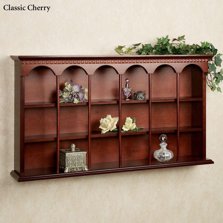 mackenzie wooden wall curio display shelf wooden walls. Black Bedroom Furniture Sets. Home Design Ideas