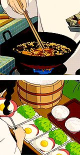 ❤Ghibli food time❤ I know you all love it c; 'stomach growls'