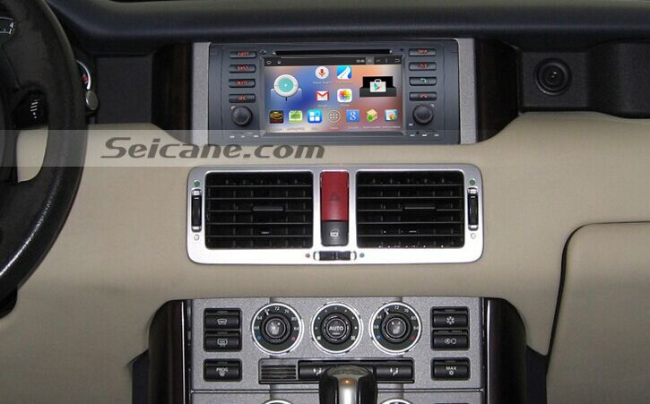 13 steps to install a 2002 2003 2004 Range Rover Radio
