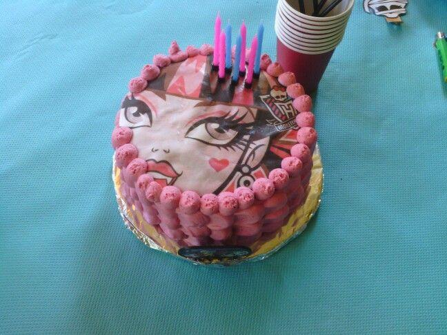 La tarta de siete años de C