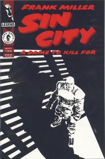 Sin City: A Dame to Kill For #1 (1993), Frank Miller, comic book