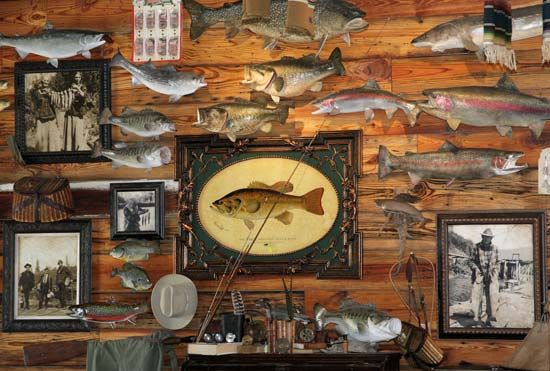 17 best images about fly tying furniture rooms on for Fly fishing decor
