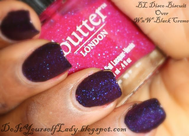 The Do It Yourself Lady: Swatches: Butter London - Disco Biscuit