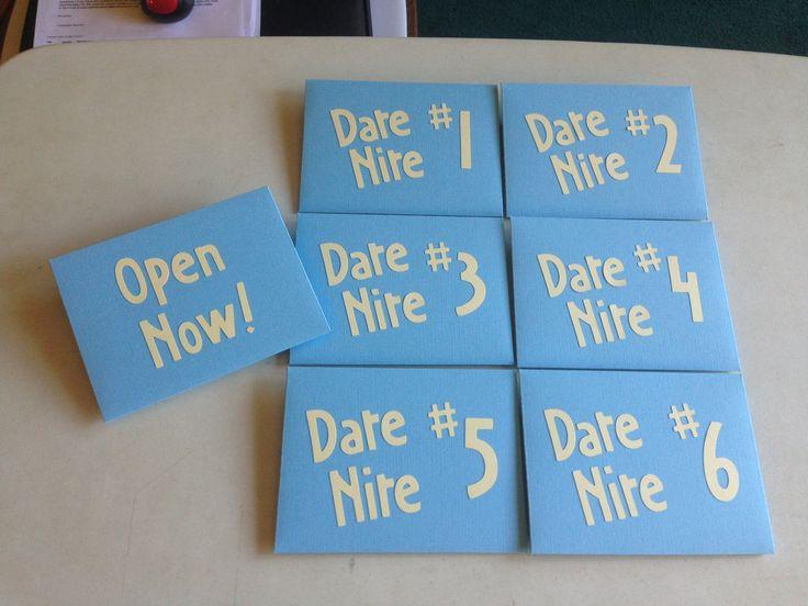 Wedding Gift Date Night : Date Night gift cardswedding, anniversary, new parents, birthday ...