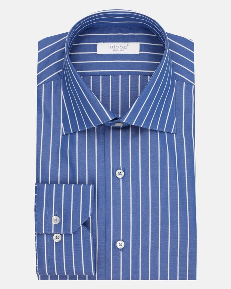 Mavi Çizgili Gömlek / Navy Stripe Shirt http://www.bisse.com/p/67/mavi-cizgili-gomlek?variantId=225