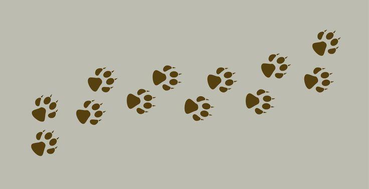 les 25 meilleures id es de la cat gorie empreintes de pattes de chien sur pinterest art de. Black Bedroom Furniture Sets. Home Design Ideas