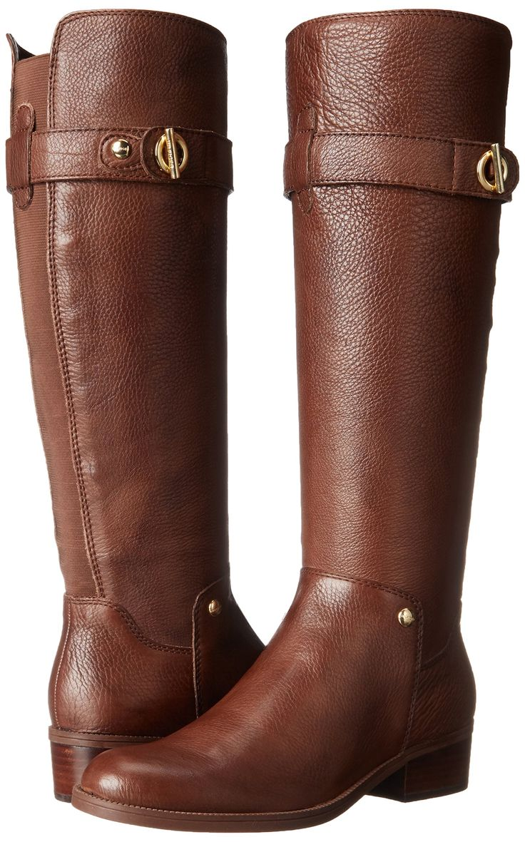 Tommy Hilfiger Women's Gallop Riding Boot, Tan