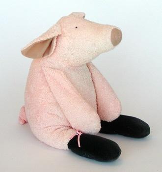 Large MANHATTAN TOY Piggy (009020)
