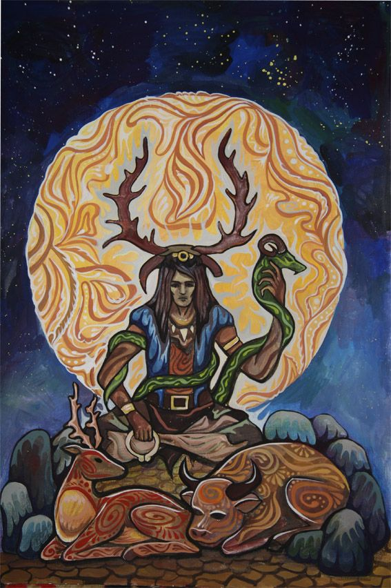 Horned God Witch Craft