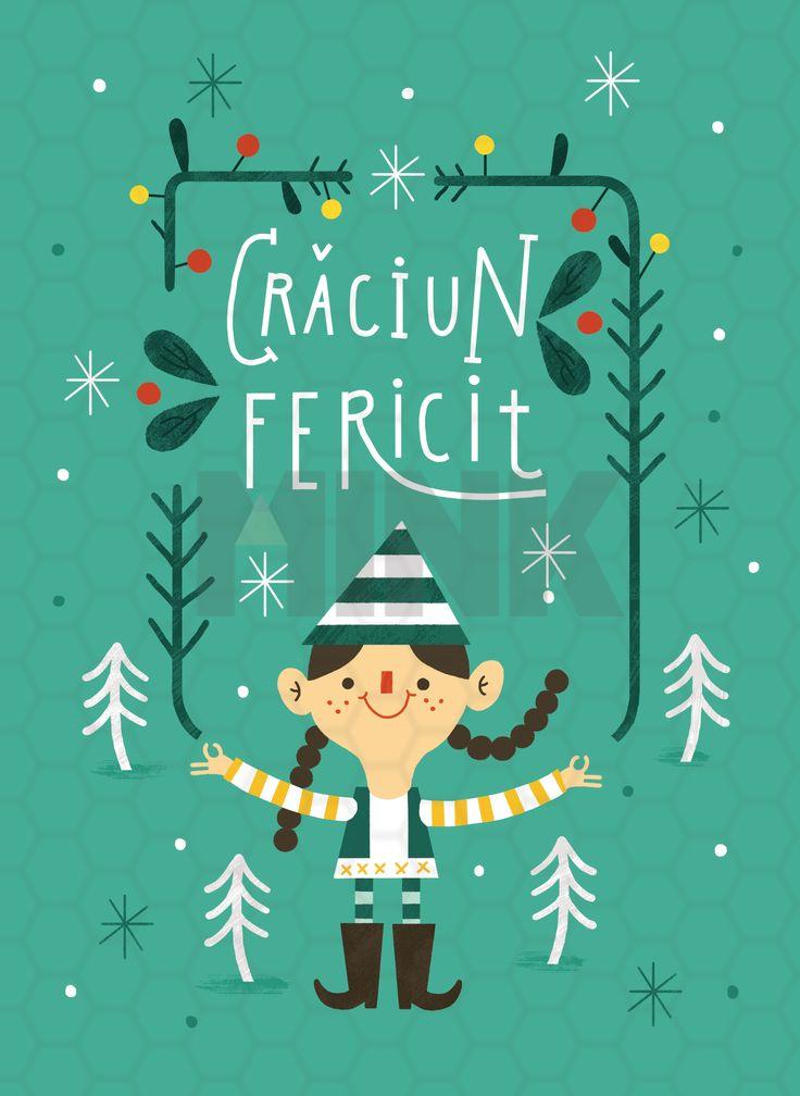 Romanian Christmas Cards reveals Christmas Tradition. Made by PAU Morgan. #saveChristmas  #MINK  #HolidaySeason  #postcard, #illustration #Christmas  #Holiday #Gift  .  http://www.mink.ro/#!product-page/c1iym/c6c44682-0e8b-5520-57c0-4bebf91e53c6