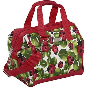 Sachi Insulated Lunch Bags Style 34 Lunch Bag #WalmartGreen What a cute bag and I can use it over & over.