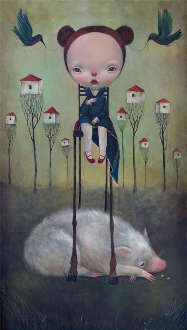 Mondo Bizzarro Gallery presenta il debutto di Dilka: a noi piace molto, che ne pensate?