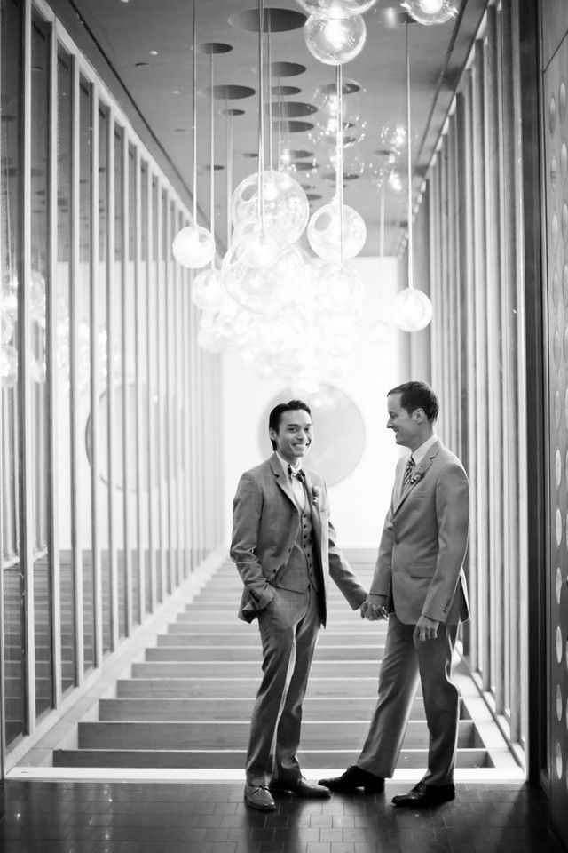 Gorgeous same-sex wedding. Photography By / http://seangallery.com,Event Styling, Planning   Floral Design By / http://picklesandpies.com