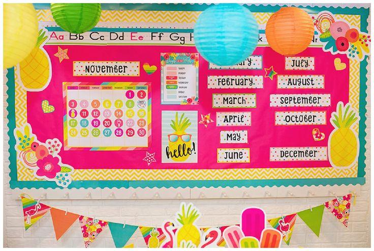 Great Classroom Decor ~ Best ideas about beach bulletin boards on pinterest