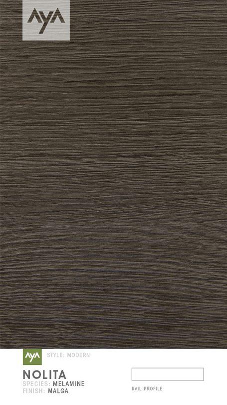 Nolita Urban Moda Textured Melamine Malga Horizontal | AyA Kitchens | Canadian Kitchen and Bath Cabinetry Manufacturer | Kitchen Design Professionals