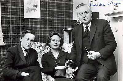 HAROLD WILSON, British Prime Minister Hand Signed Photograph - JSA COA - UACC RD