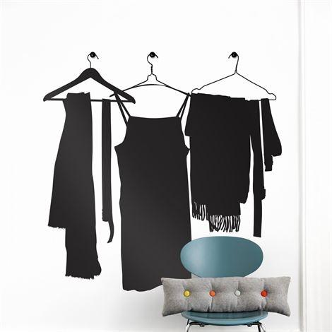 Wardrobe wall decoration