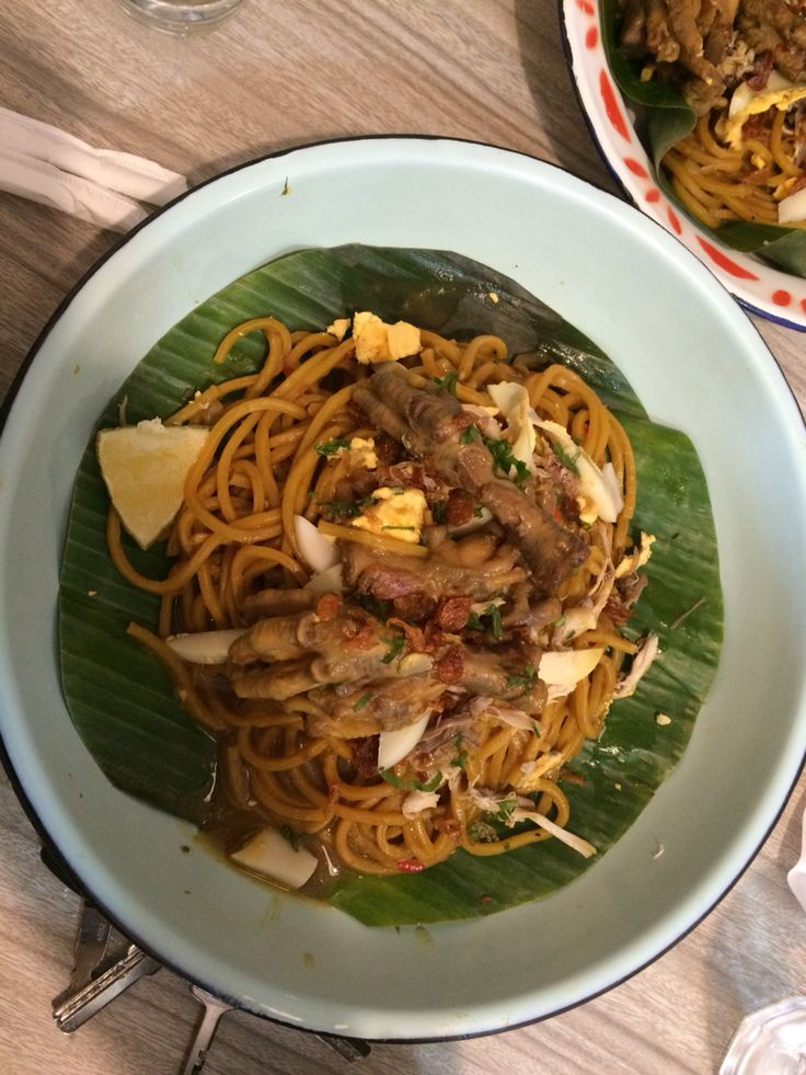 did you know this food is called mie bancir this the mainstay of cuisine chef agus sasirangan 2nd pl pinteres