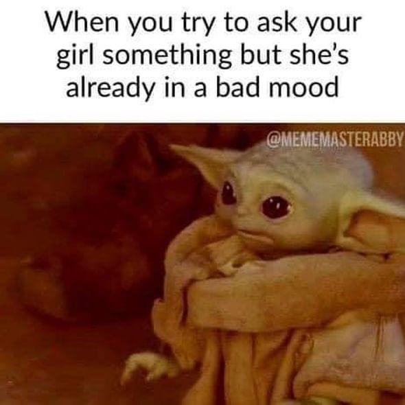 The Funniest Baby Yoda Memes Yoda Funny Crazy Funny Memes Funny Memes
