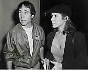 Carrie Fisher, Paul Simon  Born Carrie Frances Fisher  October 21, 1956 (age 58) Beverly Hills, California, U.S.   Occupation Actress, novelist, screenwriter, performance artist   Years active 1975–present   Spouse(s) Paul Simon (m. 1983–84)   Partner(s) Bryan Lourd (1991–1994)   Children 1   Parents Eddie Fisher Debbie Reynolds