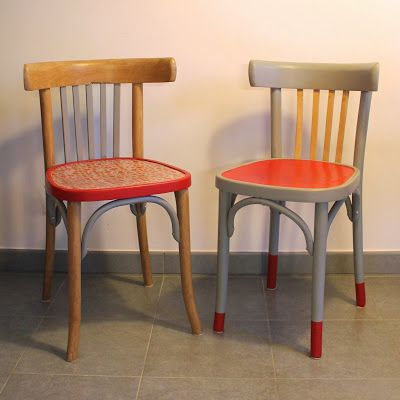 Rénovation chaise bistro