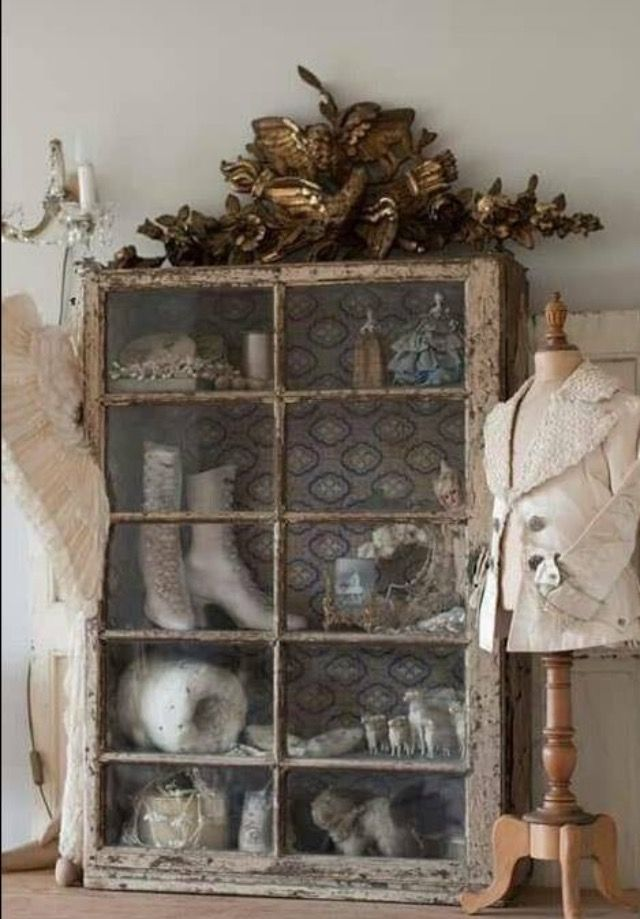 Pretty French country antiques.