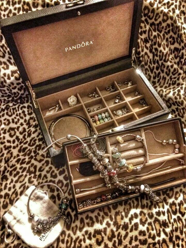 PANDORA Jewelery Box ♡♡♡ I Want One Of Those!
