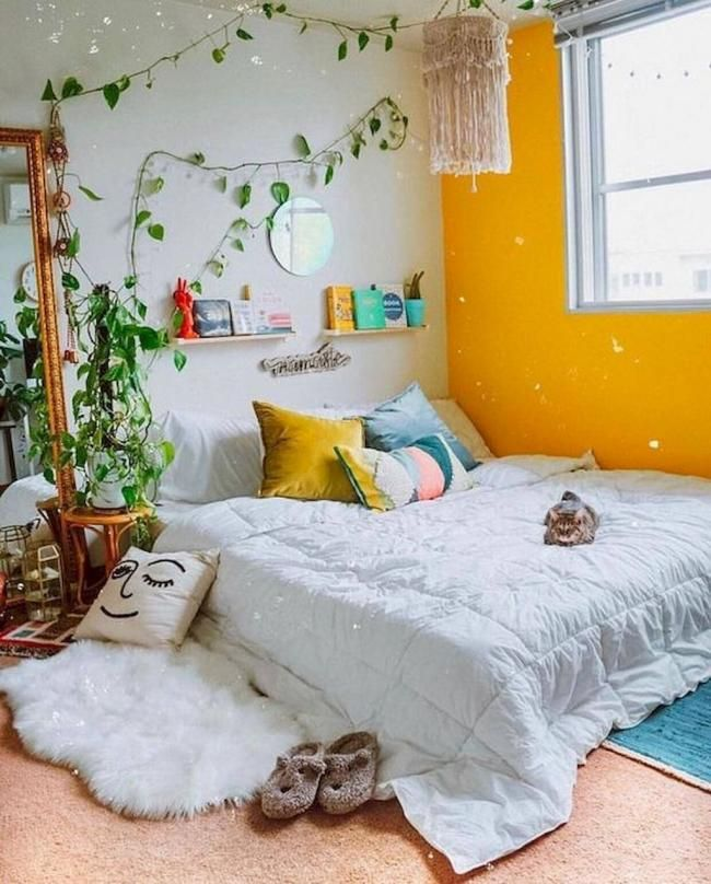 19 Inexpensive Diy Bedroom Decor Ideas | Bedroom design ...