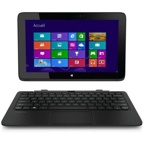 HP Pavilion x2 11-h060ef Ordinateur portable Intel Pentium N3510 4.Go (2x2) 64.Go SSD Ec pas cher prix promo Ordinateur portable pas cher Auchan 429.00 € TTC au lieu de 599 €