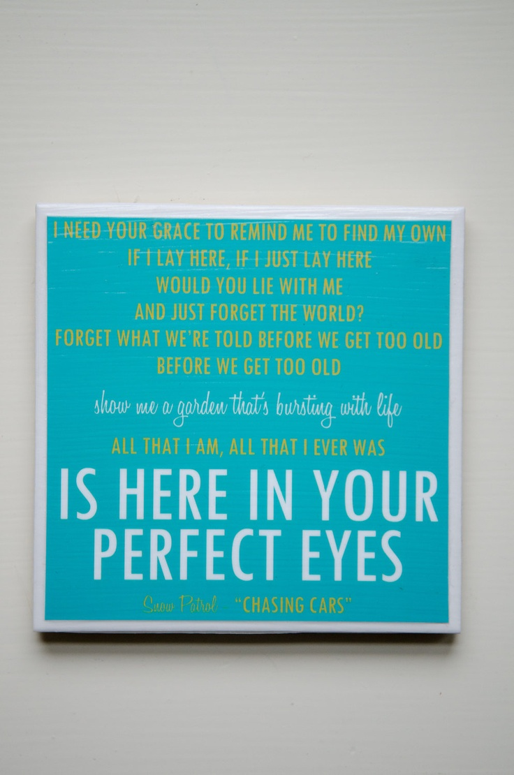 Best 25+ Snow Patrol Lyrics Ideas On Pinterest