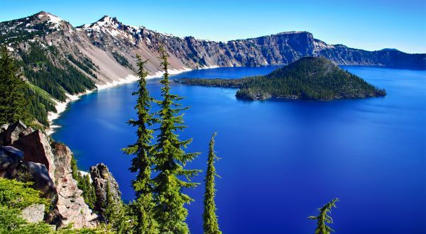 Lago Crater, Estados Unidos