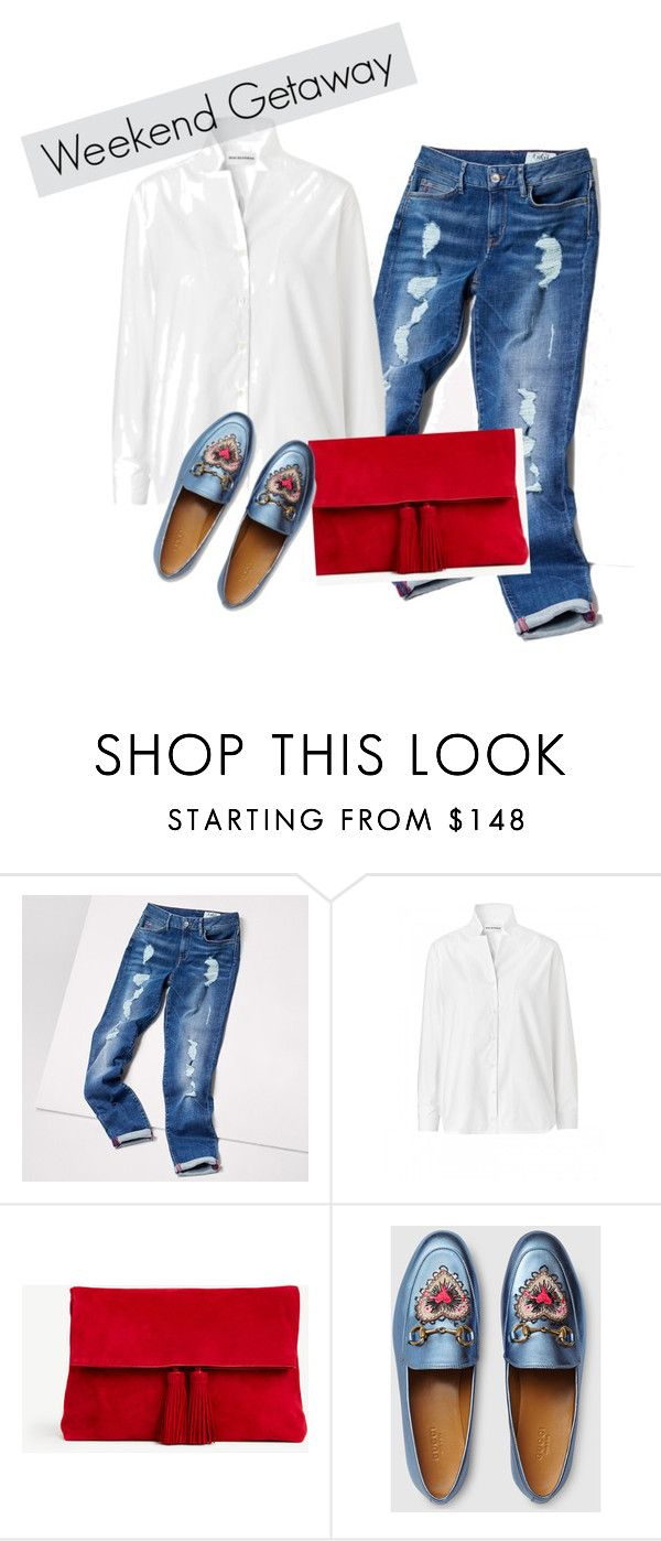 weekens outfit for my mum by alya-volov on Polyvore featuring Tommy Hilfiger, Gucci, Ann Taylor and CasualChic