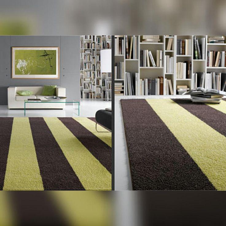 Полосатый ковер Jab #jab #rug #tapetti #tapis #ковер #салон_ковров #ковры #арбат #идеал_интерьер #interior #design