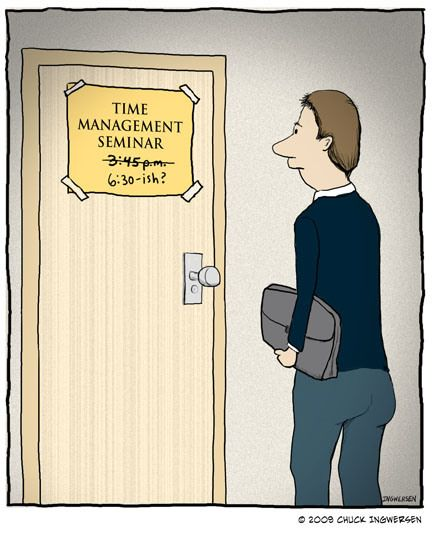 Funny Time Management Quotes: 29 Best Time Management Cartoons Images On Pinterest