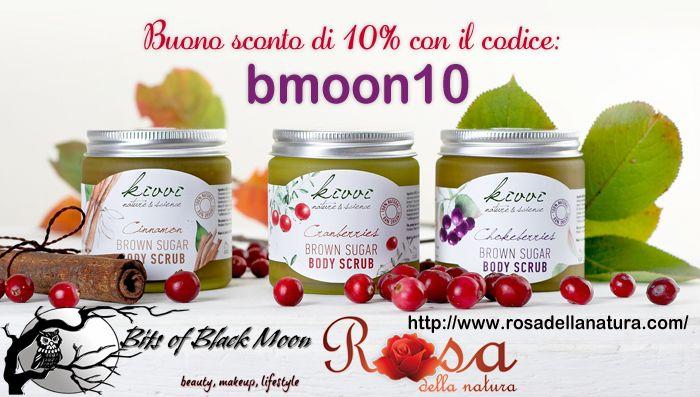 [Preview] - Rosa della Natura - Kivvi, Abellie, Eubiona le nuove marche bio e lo sconto per Voi | ★ Bits Of Black Moon ★