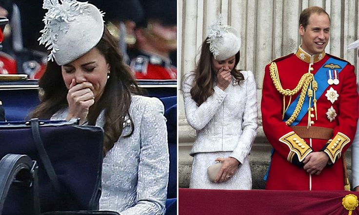 Sneezy rider Kate: Duchess's attack of the sniffles at Trooping the Colour
