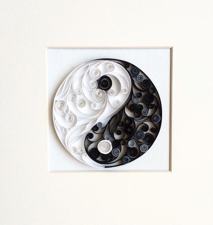 Best 25 yin yang ideas on pinterest yin yang meaning for Decoration murale yin yang