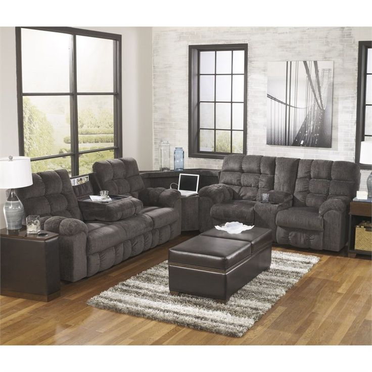 Ashley Furniture Sectional Microfiber best 25+ reclining sectional ideas on pinterest | sectional sofa