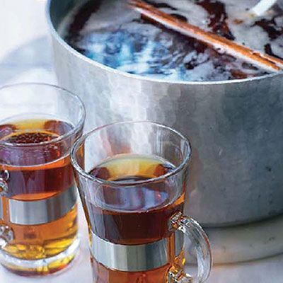 Spicy Winter Pimms Punch