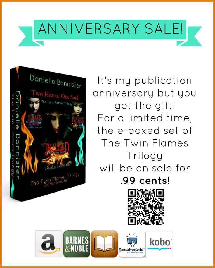 It's my Anniversary, but you get the gift! Find out more here: https://daniellebannister.wordpress.com/2016/09/13/5-year-book-anniversary/