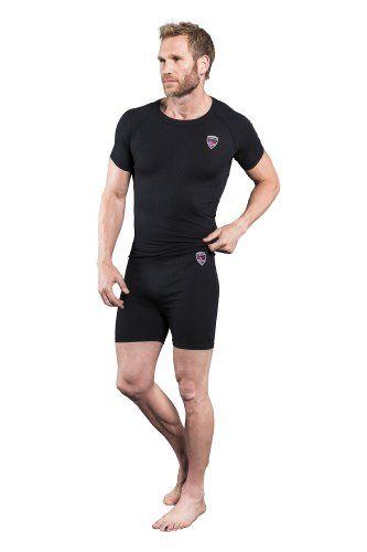 Nebulus Skiunterwäsche Basic Teight II - Conjunto térmico de ropa interior para hombre, color negro, talla L #camiseta #realidadaumentada #ideas #regalo